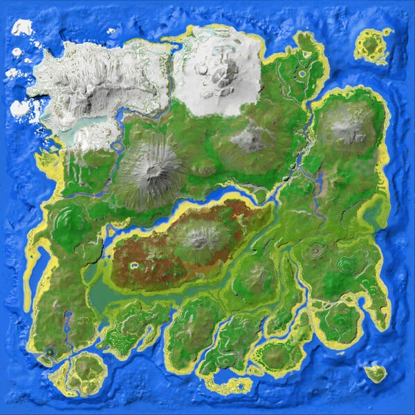 ark map the island-0