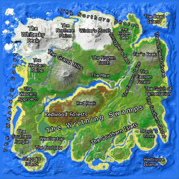 ark map the island-1