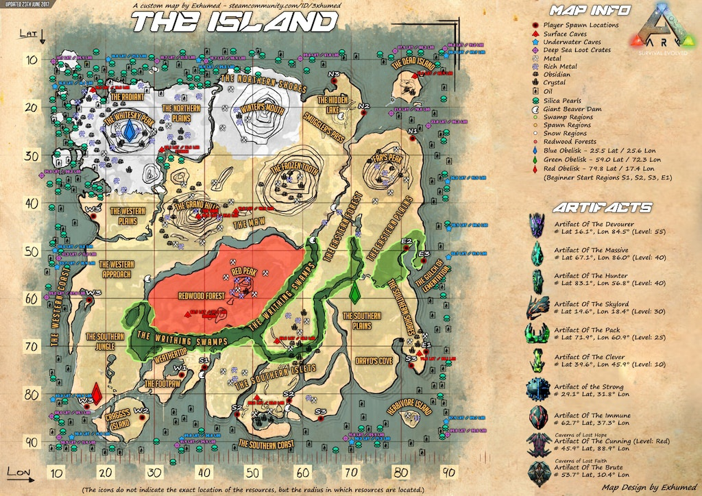 ark map the island-2