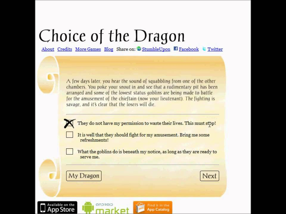 choice of the dragon-2