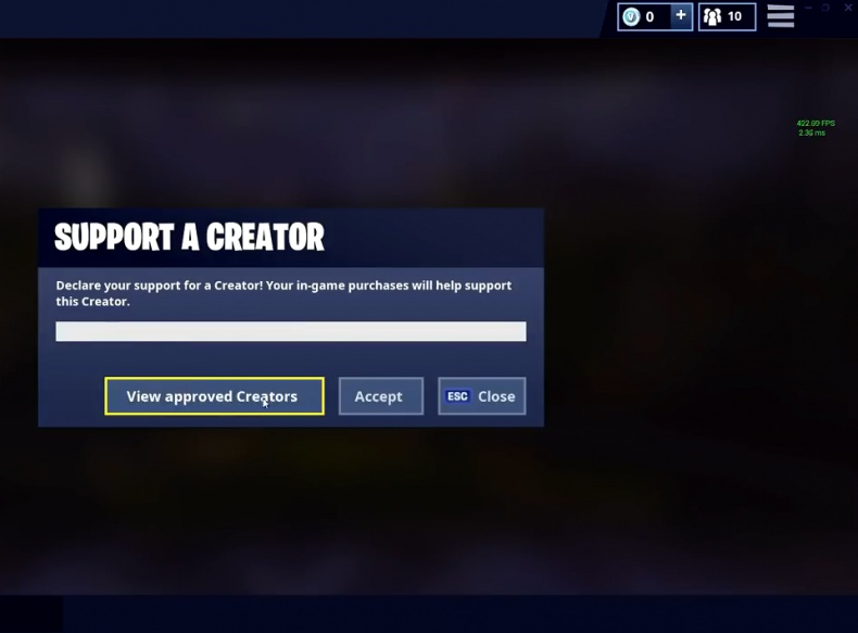 support a creator list-0