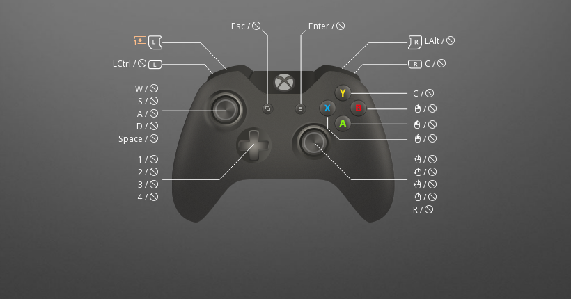 for honor controller or keyboard-3