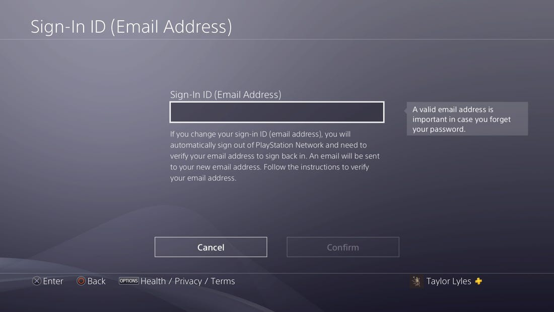 playstation network change password email-7