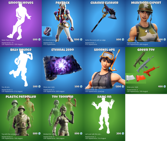 whats in the item shop-2