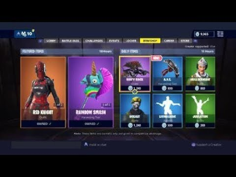 whats in the item shop-7