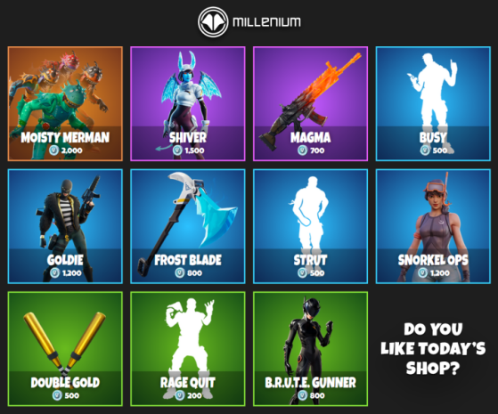 whats in the item shop-8