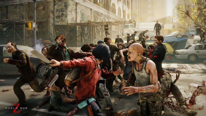 zombie horde video game character-2