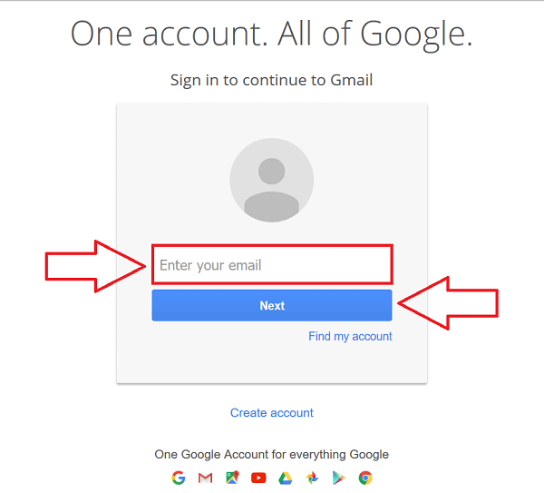 gmail login new account-0