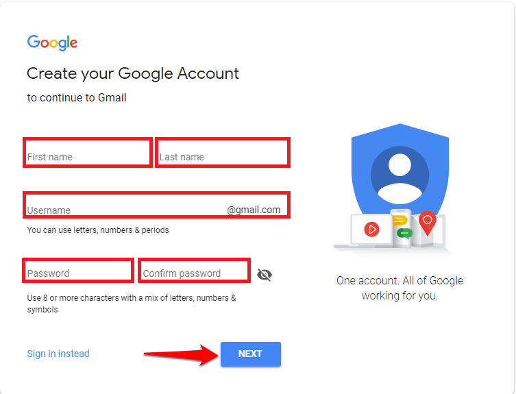 gmail login new account-8