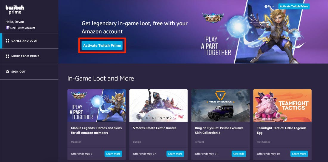 how to activate twitch prime-0