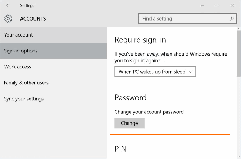 microsoft account change password-5
