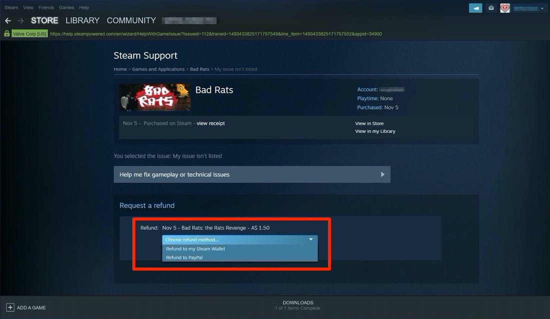 how to refund steam gifts-2