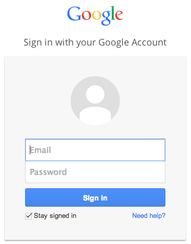 how to sign into google-0