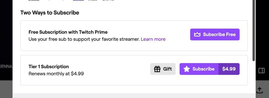 how to use twitch prime sub-0