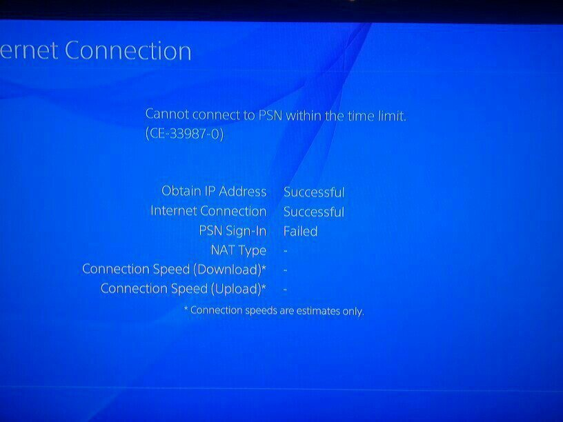 ps4 can't connect to psn-7