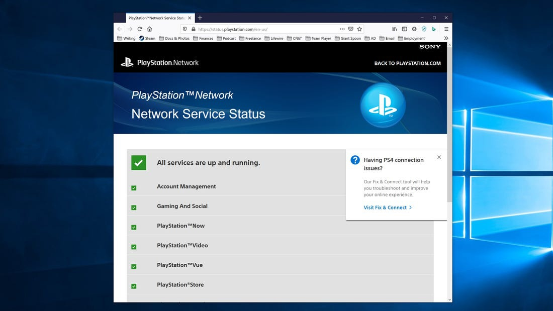 ps4 can't connect to psn-8