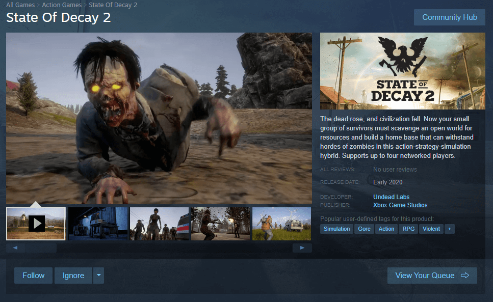 state of decay steam-1