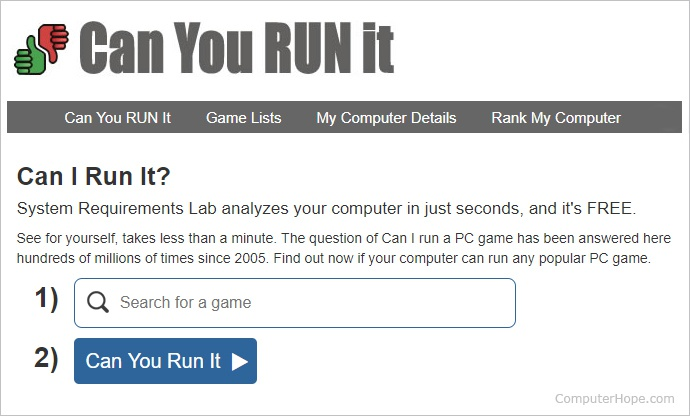what games can i run-2