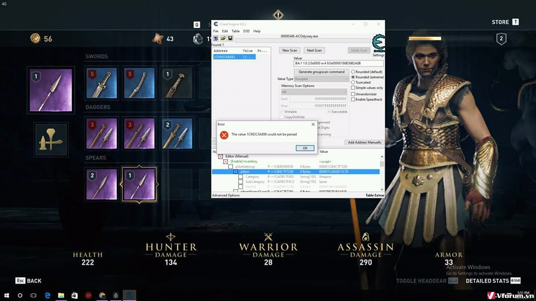 cheat engine assassin's creed odyssey-7