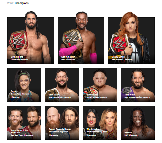 list of current wwe champions-0