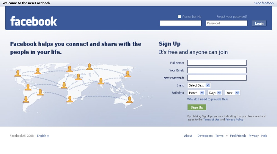 facebook homepage login google-4