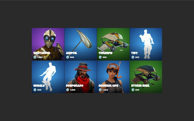 current fortnite item shop-0