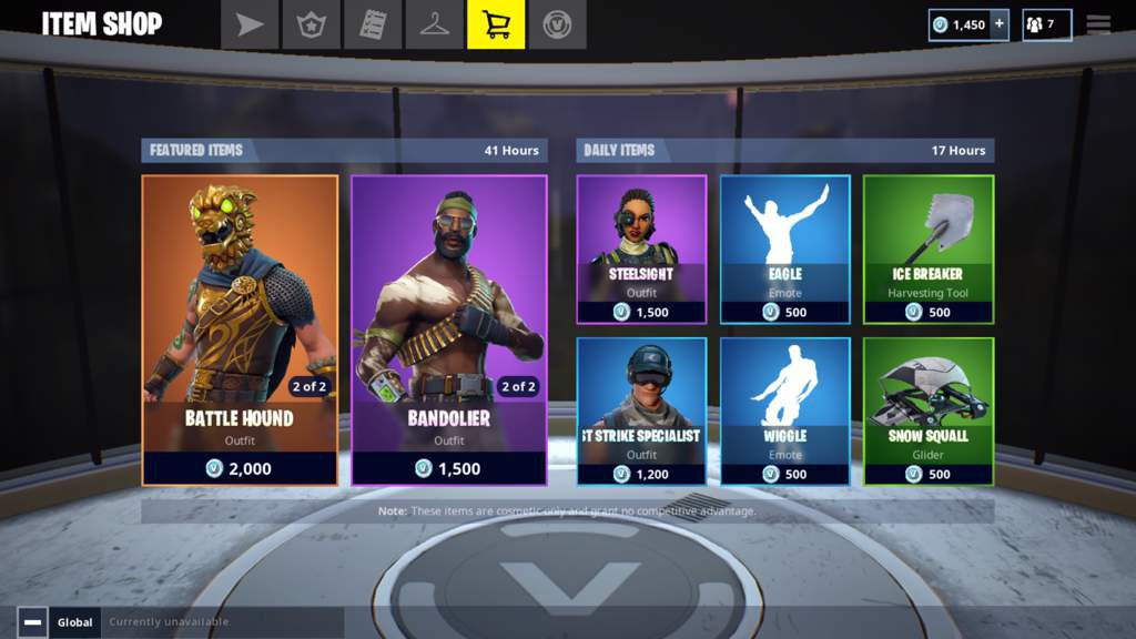 current fortnite item shop-2