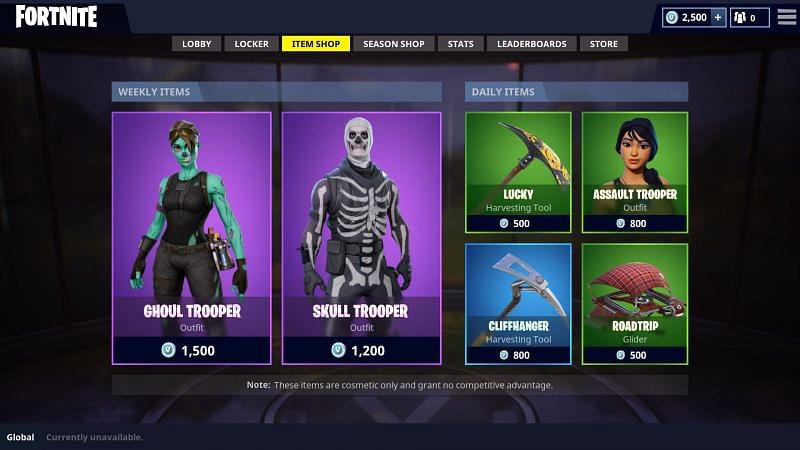 current fortnite item shop-4
