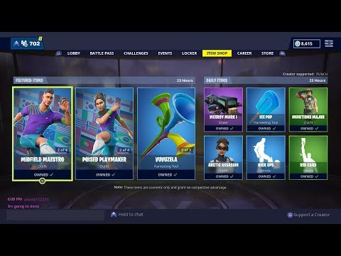 fortnite current item shop-5