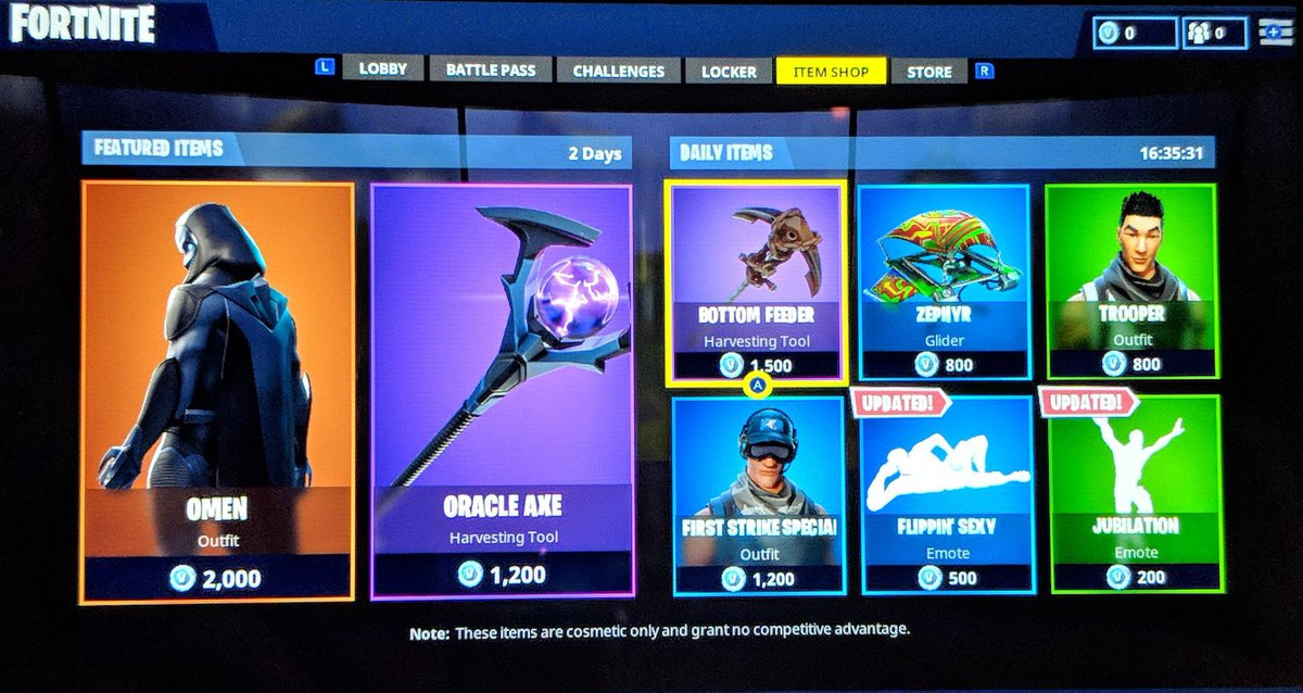 current fortnite item shop-7