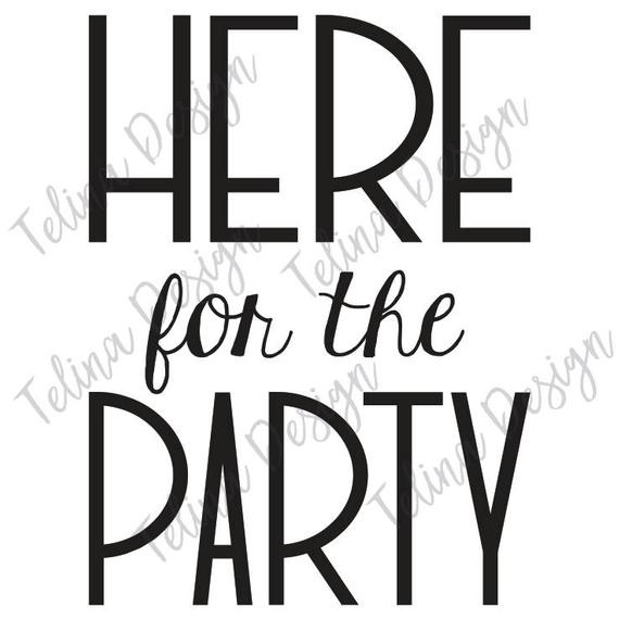 here for the party-6