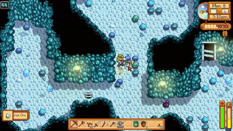 stardew valley iron ore-0