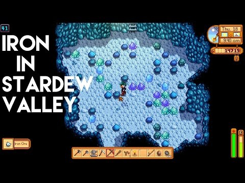stardew valley iron ore-5