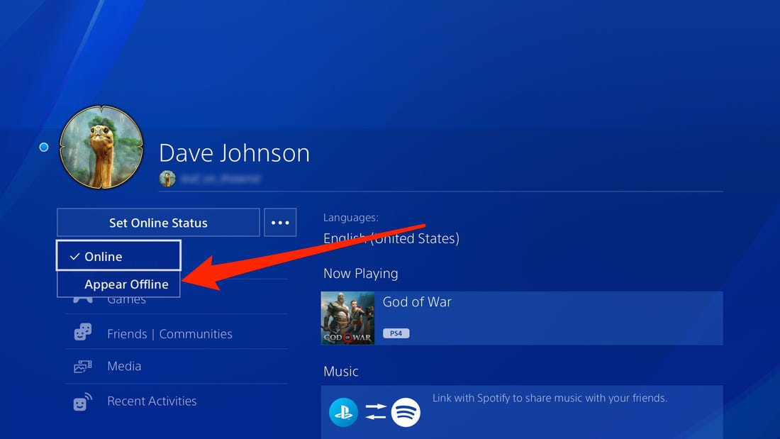 how to appear offline on ps4-0
