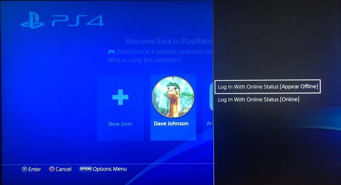 how to appear offline on ps4-2