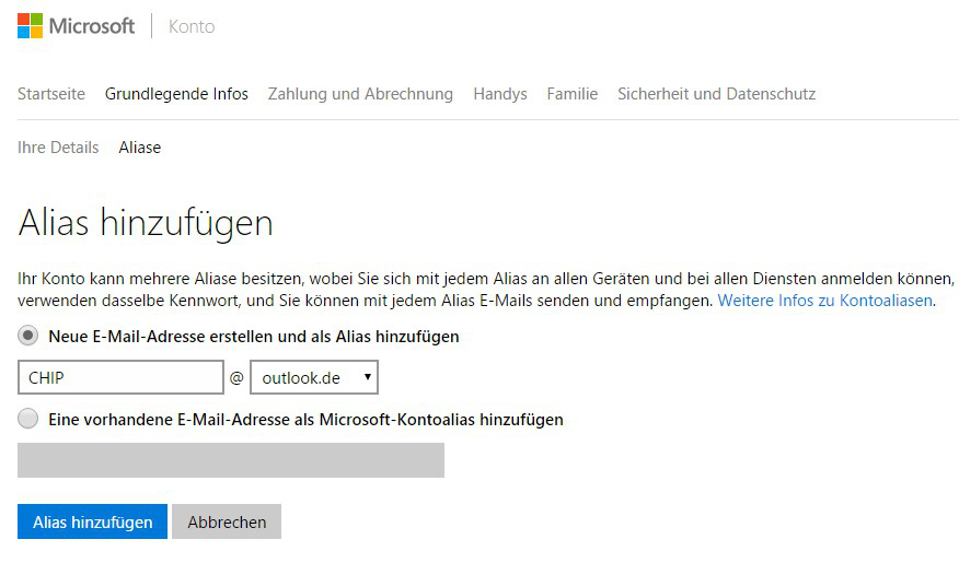 change xbox live email-7