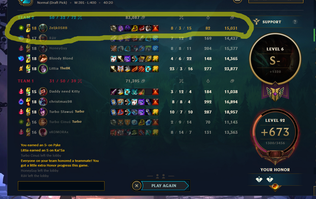 how to get an s in lol-1