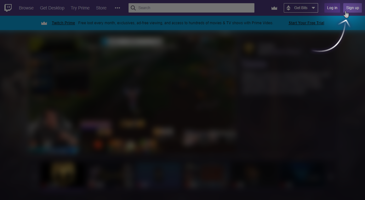 create a twitch account-2