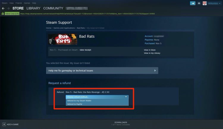 can you refund steam games-0