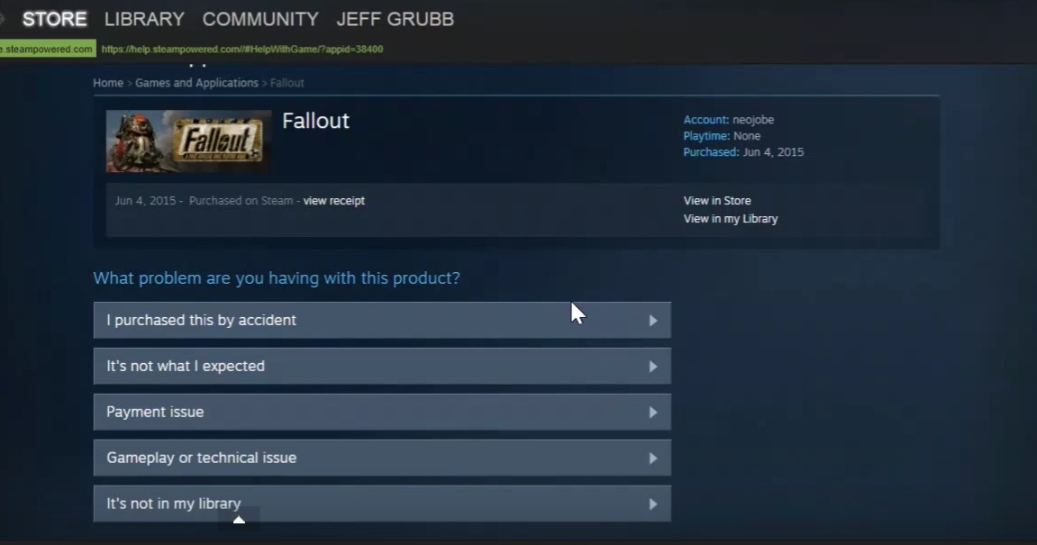 can you refund steam games-1