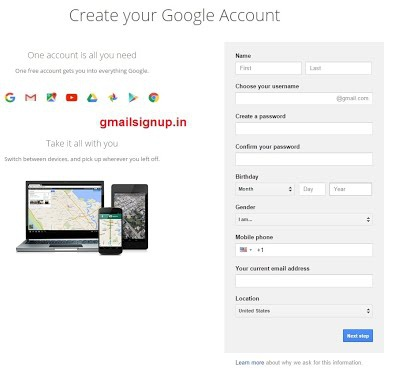 gmail sign up page-0