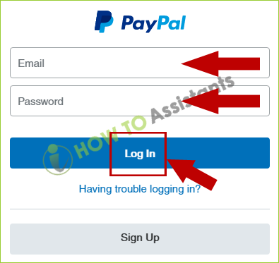 my paypal account login in-3