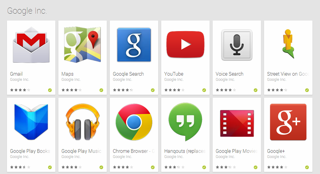 google apps for android-2
