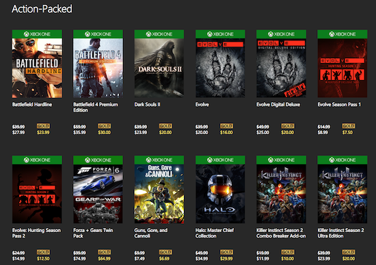 xbox one game sale-1
