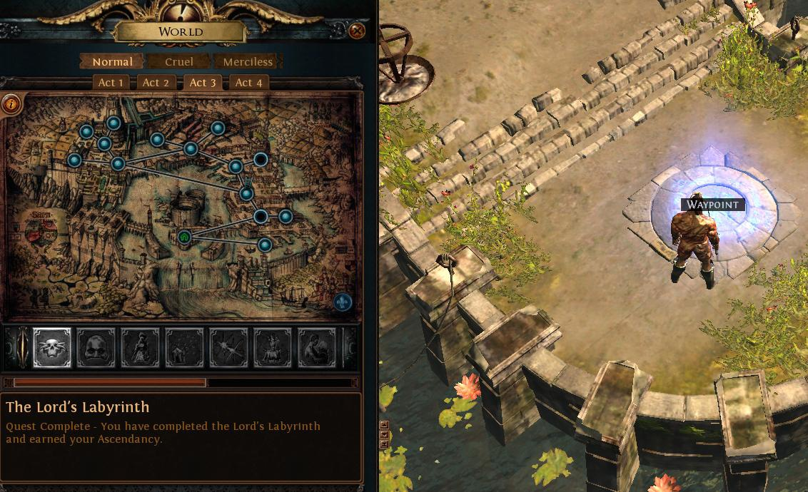 path of exile the lord's labyrinth-1