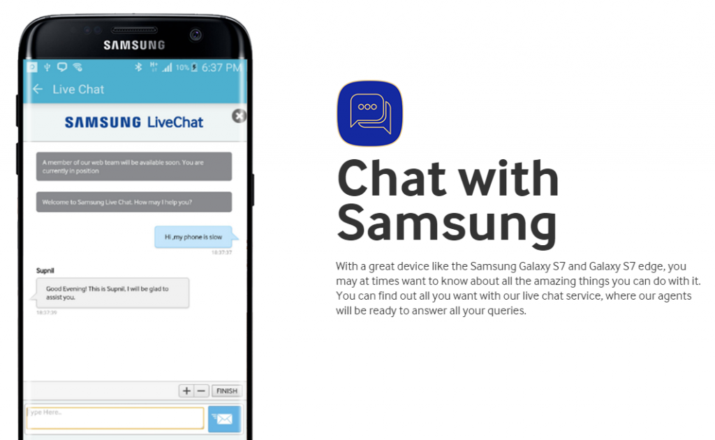samsung customer service chat-2