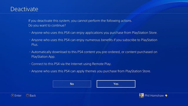 how to deactivate ps4-6