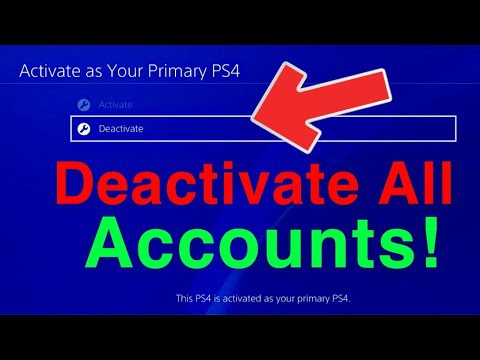 how to deactivate ps4-7