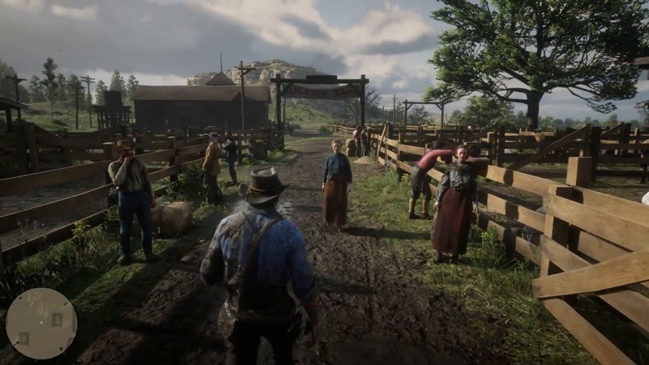 red dead 2 gameplay-3