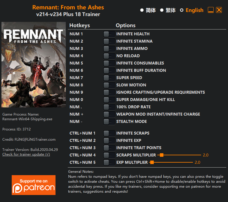 remnant from the ashes cheat engine-1